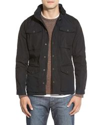 Fjallraven | Black 'raven' Field Jacket for Men | Lyst