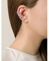 Joelle Jewellery | Metallic 'antique' Ear Cuff | Lyst