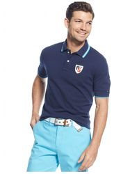 Tommy Hilfiger - Blue Toby Classic-fit Polo for Men - Lyst