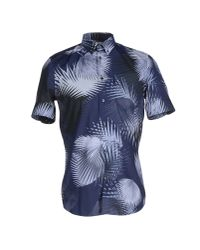 Façonnable - Blue Shirt for Men - Lyst