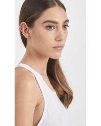 Loren Stewart - Metallic Diamond Bar Ear Cuff - Lyst