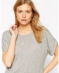 ASOS | Metallic Open Diamond Multirow Necklace | Lyst