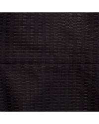 Paul Smith | Women'S Black Open Weave Panelled Shift Dress | Lyst