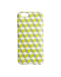 J.Crew | Yellow Shiny Printed Case For Iphone 6/6s | Lyst