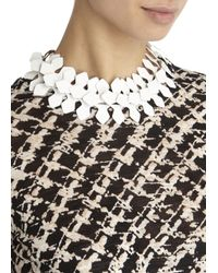 Moxham | Metallic Kline Adjustable Laser-Cut Necklace | Lyst