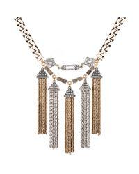 Lulu Frost - Metallic Metronome Necklace - Lyst