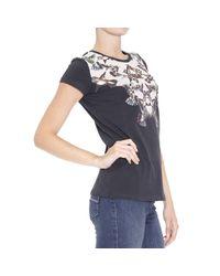 Pinko - Black T-shirt - Lyst