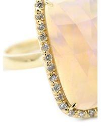 Kimberly Mcdonald - Metallic Diamond Pavé Opal Ring - Lyst