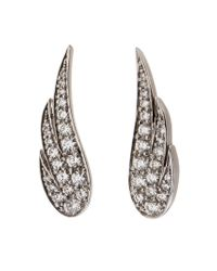 Anita Ko - Metallic Wing Earrings - Lyst