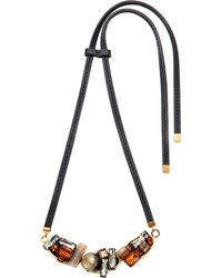 Marni | Metallic Embellished Pendant Necklace | Lyst