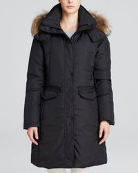 Andrew Marc - Black Down Darby Downtown Parka - Lyst