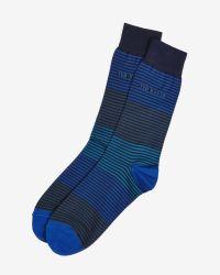 Ted Baker - Blue Sock for Men - Lyst
