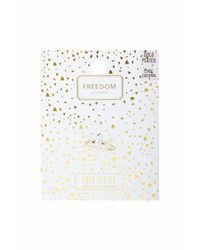 TOPSHOP - Metallic Gold Plated Star Ring - Lyst