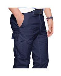 Polo Ralph Lauren - Blue Slim-fit Stretch Cargo Pant for Men - Lyst