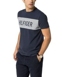 Tommy Hilfiger - Blue Hutton T-shirt for Men - Lyst