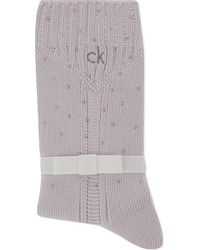 Calvin Klein | Gray Chelsea Holiday Luxury Socks | Lyst