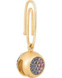 Aurelie Bidermann | Purple 18-Karat Gold Sapphire Bell Charm | Lyst