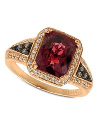 Le Vian | Pink Garnet (3-5/8 Ct. T.w.) And Diamond (1/5 Ct. T.w.) In 14k Rose Gold | Lyst