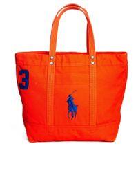 e352fa9b4e Lyst - Polo Ralph Lauren Tote Bag in Red