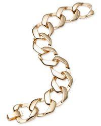 Jones New York | Metallic Gold-Tone Link Flex Bracelet | Lyst