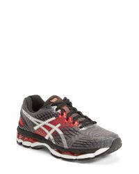 Asics | Black 'Gel-Nimbus 17' Running Shoe for Men | Lyst