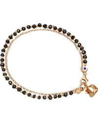 Astley Clarke | Black Little Parcel Spinel Friendship Bracelet | Lyst