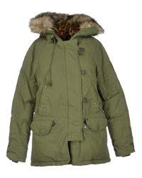 Denim & Supply Ralph Lauren - Green Snorkel Down Jacket - Lyst