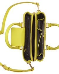 Vince Camuto - Yellow Thea Small Satchel - Lyst