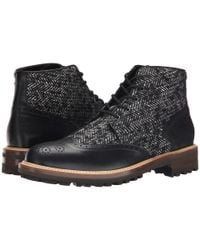 DSquared² - Black Othello Laced Up Ankle Boot for Men - Lyst