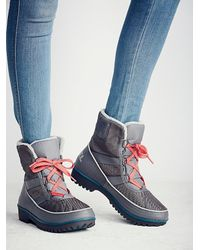 Free People | Gray Tivoli Ii Weather Boot | Lyst