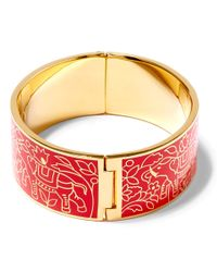 Liberty - Red Imran Solid Thick Cuff - Lyst
