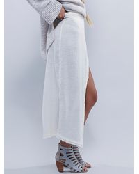 Free People | White Endless Summer Womens Stack It Skirt | Lyst