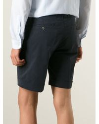 AMI | Blue Chino Shorts for Men | Lyst