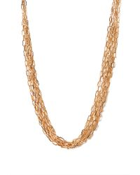 Forever 21 - Metallic Glitzy Girl Long Necklace - Lyst