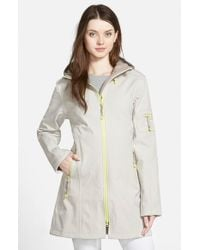 Ilse Jacobsen - Natural Hornbaek 'Rain 7' Hooded Waterproof Coat - Lyst