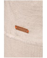 BOSS Orange | Gray Sweater 'irynas' In High-quality Linen Blend | Lyst