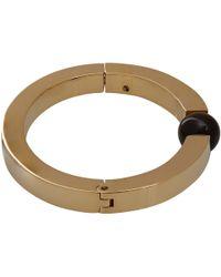 Chloé | Metallic Gold-Tone Crystal Darcy Sphere Bracelet | Lyst