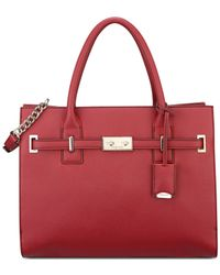 Nine West | Red Internal Affairs Large Tote | Lyst