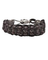 Emanuele Bicocchi | Black Braided Bead Bracelet for Men | Lyst