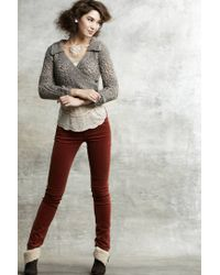 Anthropologie | White Pave Posts | Lyst