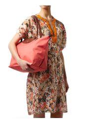 Longchamp - Purple Le Pliage Large Shoulder Bag - Lyst