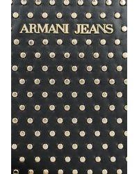 Armani Jeans - Black Shoulder Bag - Lyst