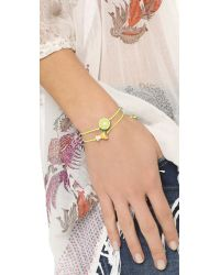 Venessa Arizaga - Yellow Margarita Lime Bracelet Set - Lyst
