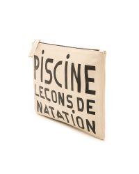 Clare V. - Natural Supreme Flat Clutch - Piscine Print - Lyst