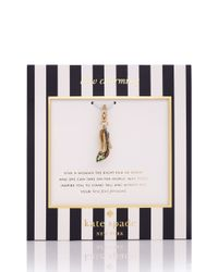 kate spade new york | Green Martini Olives Charm | Lyst