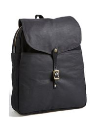 Filson | Black Twill & Tin Cloth Backpack for Men | Lyst