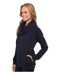 Patagonia - Blue Reversible Double Knit Pullover - Lyst
