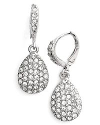 Givenchy | Metallic Teardrop Earrings | Lyst