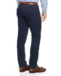 Ralph Lauren - Blue Polo Straight-fit Bedford Chino Pants for Men - Lyst