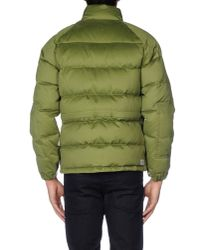 Golden Goose Deluxe Brand - Green Down Jacket for Men - Lyst